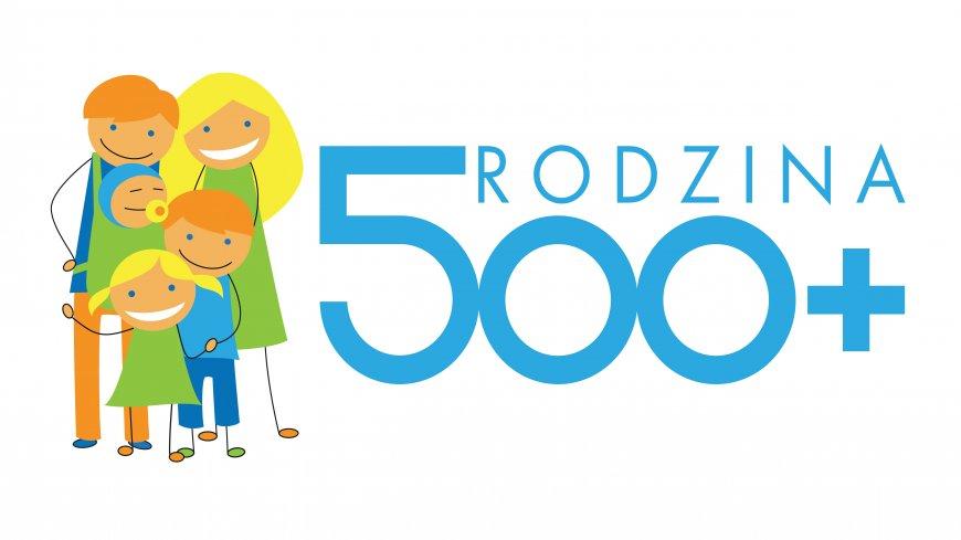 grafika dotycząca programu rodzina 500+